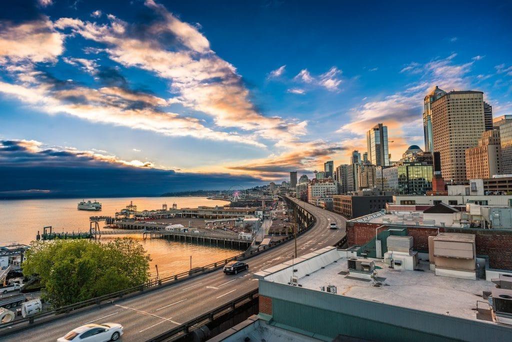 Skyscrapers in Seattle, Washington