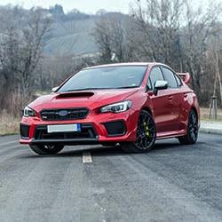 Subaru WRX sports car