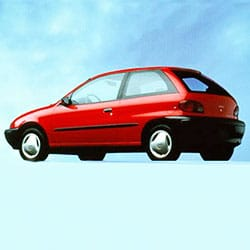 Geo Metro hatchback coupe