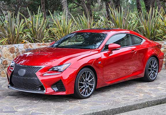 Lexus RC sports car