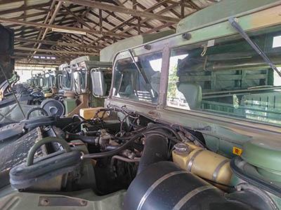 Hummer engines