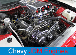 Chevy JDM Engines