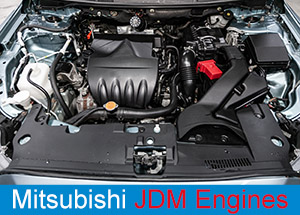 Mitsubishi JDM Engines