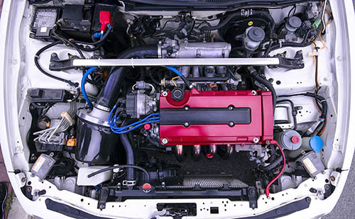 A used Honda JDM engine